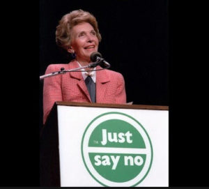 Nancy Reagan, Just Say No, Drugs, War on Drugs